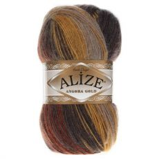 Пряжа Alize Angora Gold Batik, цвет № 3379