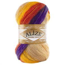Пряжа Alize Angora Gold Batik, цвет № 6272