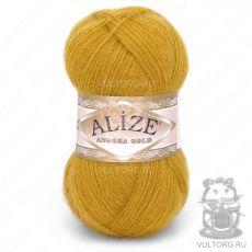 Пряжа Alize Angora Gold, цвет № 02 (Горчичный)