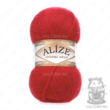 Пряжа Alize Angora Gold, цвет № 106 (Красный)