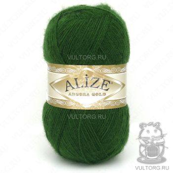 Пряжа Alize Angora Gold, цвет № 118 (Зелёная трава)
