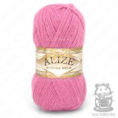 Пряжа Angora Gold Ализе, цвет № 33 (Ярко-розовый)