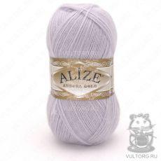 Пряжа Alize Angora Gold, цвет № 71 (Светло-серо-сиреневый)