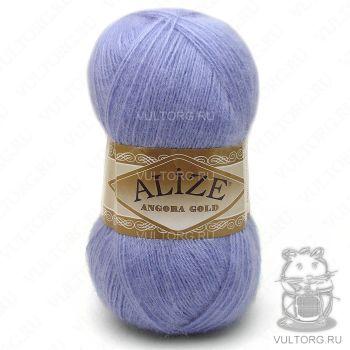 Пряжа Angora Gold Ализе, цвет № 40 (Голубой)