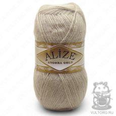 Пряжа Angora Gold Ализе, цвет № 543 (Кофе с молоком)