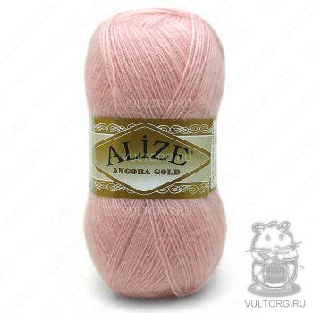 Пряжа Alize Angora Gold, цвет № 363 (Светло-розовый)