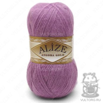 Пряжа Alize Angora Gold, цвет № 28 (Роза)