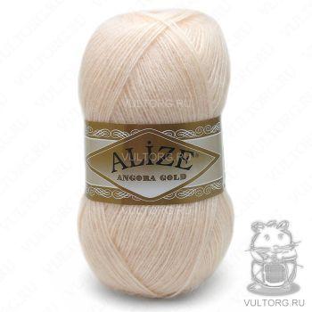 Пряжа Angora Gold Ализе, цвет № 681 (Ярко-персиковый)