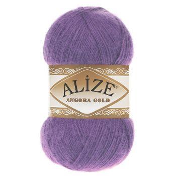 Пряжа Alize Angora Gold, цвет № 206 (Виолет)