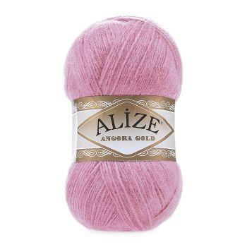 Пряжа Alize Angora Gold, цвет № 39 (Розовый леденец)