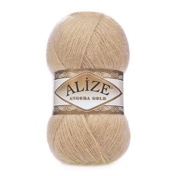 Пряжа Alize Angora Gold, цвет № 95 (Светло-бежевый)