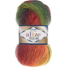 Пряжа Angora Real 40 Batik Ализе, цвет № 4895