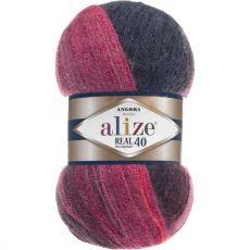 Пряжа Angora Real 40 Batik Ализе, цвет № 6327