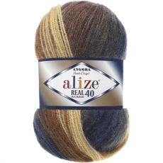 Пряжа Angora Real 40 Batik Ализе, цвет № 6534