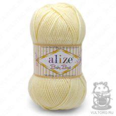 Пряжа Alize Baby Best, цвет № 01 (Молочный)