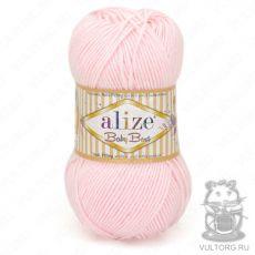 Пряжа Alize Baby Best, цвет № 184 (Розовая пудра)