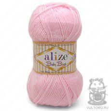 Пряжа Alize Baby Best, цвет № 185 (Светло-розовый)