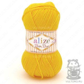 Пряжа Alize Baby Best, цвет № 216 (Темно-жёлтый)