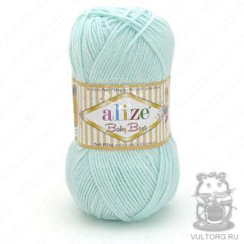 Пряжа Alize Baby Best, цвет № 514 (Мята)