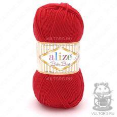 Пряжа Baby Best Ализе, цвет № 56 (Красный)