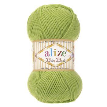 Пряжа Alize Baby Best, цвет № 612 (Фисташка)
