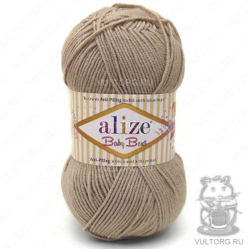 Пряжа Alize Baby Best, цвет № 256 (Беж)