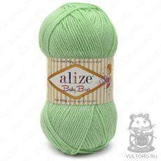 Пряжа Alize Baby Best, цвет № 41 (Зелёный)