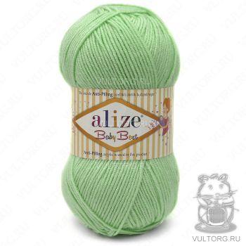 Пряжа Baby Best Ализе, цвет № 41 (Зелёный)