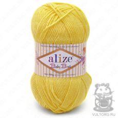 Пряжа Alize Baby Best, цвет № 113 (Жёлтый)