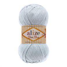 Пряжа Alize Baby Best, цвет № 224 (Светло серый)