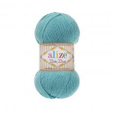 Пряжа Alize Baby Best, цвет № 164 (Лазурный)