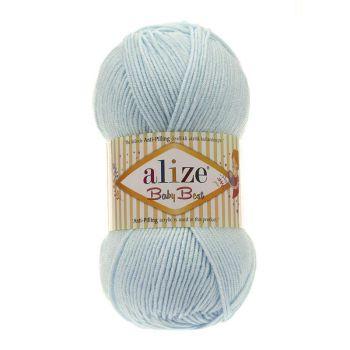 Пряжа Alize Baby Best, цвет № 189 (Светло-бирюзовый)