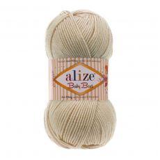 Пряжа Alize Baby Best, цвет № 599 (Слоновая кость)