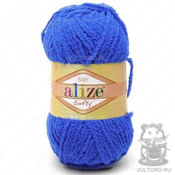 Пряжа Alize Baby Softy, цвет № 141 (Василёк)