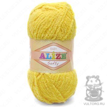 Пряжа Alize Baby Softy, цвет № 187 (Лимонный)