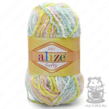Пряжа Alize Baby Softy, цвет № 51300