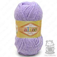 Пряжа Baby Softy Ализе, цвет № 158 (Светло-фиолетовый)