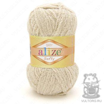 Пряжа Baby Softy Ализе, цвет № 310 (Медовый)
