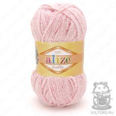 Пряжа Alize Baby Softy, цвет № 340 (Пудра)