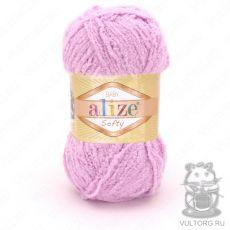 Пряжа Alize Baby Softy, цвет № 98 (Розовый)