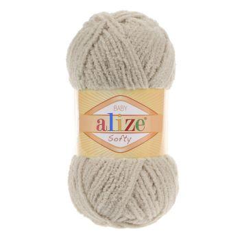 Пряжа Alize Baby Softy, цвет № 115 (Лунный луч)