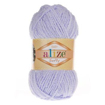 Пряжа Alize Baby Softy, цвет № 146 (Нежная сирень)