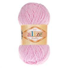 Пряжа Alize Baby Softy, цвет № 185 (Детский розовый)
