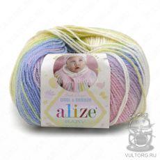 Пряжа Baby Wool Batik Ализе, цвет № 4004