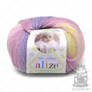 Пряжа Alize Baby Wool Batik, цвет № 4006