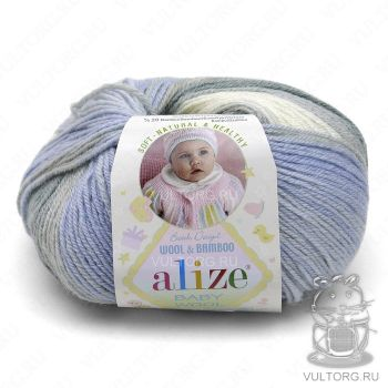 Пряжа Alize Baby Wool Batik, цвет № 4692
