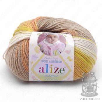 Пряжа Alize Baby Wool Batik, цвет № 4797