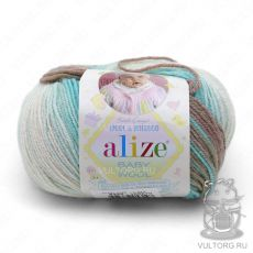 Пряжа Baby Wool Batik Ализе, цвет № 6320