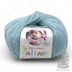 Пряжа Baby Wool Ализе, цвет № 114 (Мята)