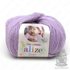 Пряжа Baby Wool Ализе, цвет № 146 (Лиловый)
